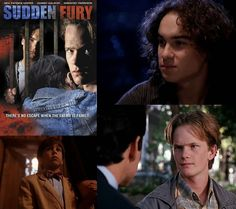 Sudden Fury (1993) (aka: A Family Torn Apart): true story movie starring Neil Patrick Harris & Johnny Galecki as adopted children who are questionned when their parents are murdered