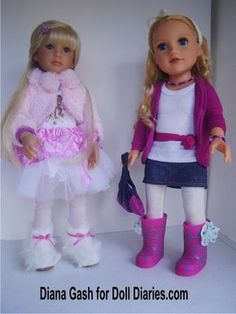 Our Generation doll shoes fit a.o. Kidz n Cats dolls - Alexis (KnC) and Meredith