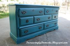 Increasingly Domestic: Refinished Dresser