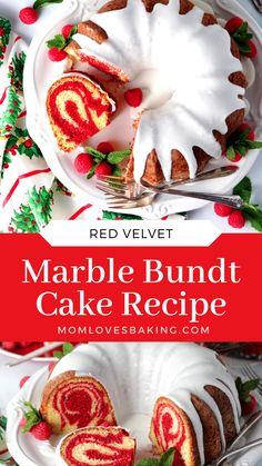 Christmas Desserts, Christmas Baking, Christmas Cakes, Holiday Cakes, Bunt Cakes, Cupcake Cakes, Cupcakes, Dessert Recipes, Desserts