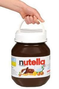 Nutella Hazelnut Spread 5kgs (11 Lbs) Product in Italy  Order at http://www.amazon.com/Nutella-Hazelnut-Spread-Product-Italy/dp/B009ZVFJHO/ref=zg_bs_16319771_51?tag=bestmacros-20