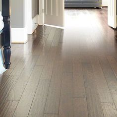 "Shaw Floors Sutton's Mountain 5""  Engineered Hickory Hardwood Flooring in Weathered Saddle"