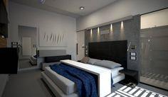 diparmaespositoarchitetti の ミニマルな 寝室