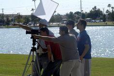 SCC Film School students in action