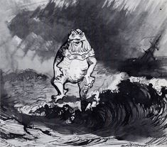 The King of the Auxcriniers, 1864 Victor Hugo Victor Hugo, Pen And Wash, Anima Mundi, Art Database, Ink Pen Drawings, Art Plastique, Illustrations, Great Artists, Les Oeuvres