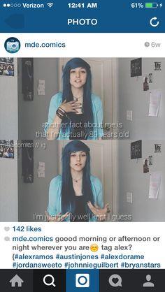 Reason why I love Alex - heythereimizabel