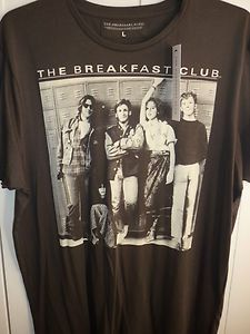 BNWT THE BREAKFAST CLUB T-SHIRT LARGE