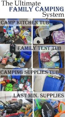The Homestead Survival | Homesteading Family Camping Packing Supplies List | http://thehomesteadsurvival.com