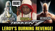 LEROY'S BURNING REVENGE! (Tekken 7 Season 4)- Leroy Smith VS Heihachi Ma... Tekken 7, Season 4, Revenge, Gaming, Baseball Cards, Youtube, Life, Videogames, Game
