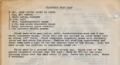 yesterdish.com » Cranberry Meat Loaf