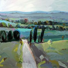 """""""remembered landscape near Lithgow"""" This was my Wynne Prize entry in 2015. What do you feel about it? #interiordesigners #interiordesignideas #architects"""