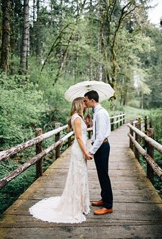 Brides.com: . Most brides' biggest wedding-day fear? After having a no-show groom, it's likely rain in the forecast. The first fear is legit, but the second one — not so much. Yes, rain can put a damper on your big-day plans, but it's really not as detrimental to your day as you would imagine. In fact, rain can make for some beautiful wedding photos. While we'll hand it to you that seriously dangerous weather, like floods, tornadoes, or a significant snowstorm, can wreak havoc on your plans…