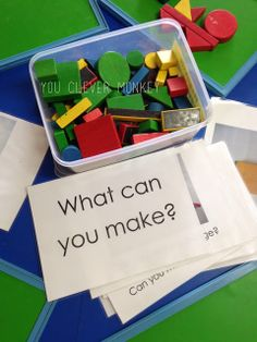 Block prompt = Great article about how spacial awareness is so important to math and science and how to develop the skill in children using blocks.