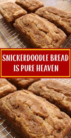 Gourmet Recipes, Dessert Recipes, Cooking Recipes, Bread Recipes, Easy Recipes, Healthy Recipes, Snickerdoodle Bread, Cinnamon Health Benefits, Pecan Tarts