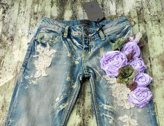 More altered jeans.  Fun!