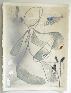 Brian Coleman, 'One', Mixed Media on Paper, 30x22 - Anne Irwin Fine Art