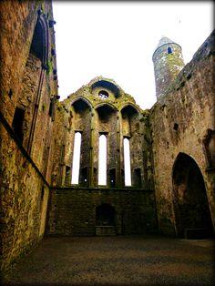 Interior - Rock of Cashel - Jon Lander ©2016 - County Tipperary, Ireland - 12th Century