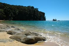Abel Tasman Park, Northern part of the South Island, NZ