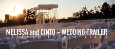 Waldorf Astoria Orlando wedding trailer. Lighting by keventlighting.com #waldorfastoriaorlando #waldorforlando #waldorfwedding #orlandowedding #outdoorwedding #weddinglighting