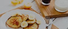 The best banana pancake recipe ever... check it out on our app!