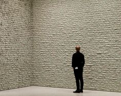 100,000 one dollar bills pinned onto the walls of the Guggenheim #conceptual #interesting