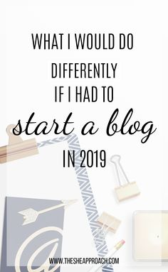 "I know there are a lot of similar posts out there about how to start a blog in 2019, but this post is different. Instead of just telling you what every other ""start a blog"" tutorial tells you, I'm going to break down exactly what I would do if I starting my first blog this year. But now I have over 3 years of experience backing me up. So here's what I would do if I had to start a new profitable blog this year!! #startablog #howtostartablog #bloggingtips"