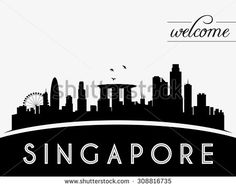 singapore skyline illustration - Cerca con Google