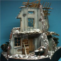 Diorama by Jan Vereerstraeten Diorama, Clock, Wall, Pictures, Home Decor, Watch, Photos, Decoration Home, Room Decor