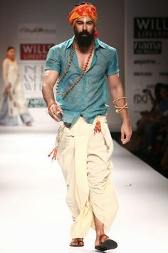 Different Ways to Wear Dhoti