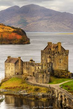 "Eilean Donan Castle, Loch Duich | Kintail, Scotland, UK • ""Eilean Donan (2)"" by Karl Williams on http://500px.com/photo/12248717"