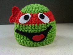 d83e915af26 My Teenage Mutant Ninja Turtle crochet Hat Keka❤❤❤