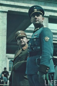 The Reich in Photos – Police Parades in Vienna and Munich, 1938