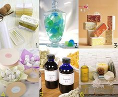 Martha Stewart Craft Projects - including soaps, oils & bath salts.