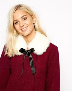 River Island Faux Fur Collar from ASOS
