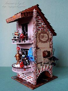 Чайник домик с конкурса HandMadeDecor