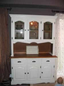 Images Of Painted Hutches | Kelly Clarke, Painted/Refinished Hutch,  Bowmanville, Ontario