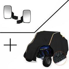 L /& R Door Speaker Pod Set UTV Off-road For Polaris RZR 900 900S XP1K XP1000 ACE