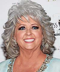 Paula Deen Hairstyle - Medium Wavy Formal | TheHairStyler.com