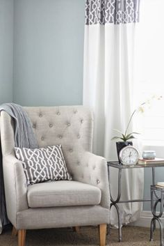 I love this color for my chair redo possibly??