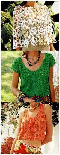 Crops Tops, Gilet Rose, Crochet Videos, Crochet Top, Blog, Crochet Patterns, Barbie, Bikinis, Gilets