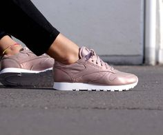 Reebok Classic Leather Pearlized Rose Gold (Fitness Inspiration Summer)