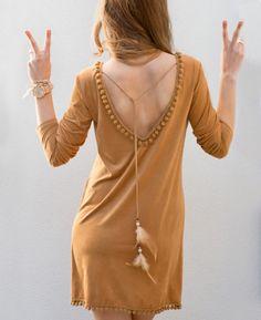 Suedine ibiza dress voor dames