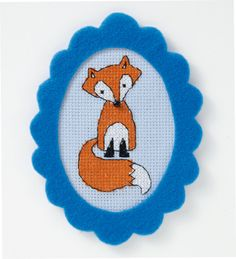 Free Fox Cross Stitch Pattern From Mollie Makes