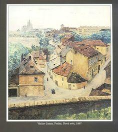 Václav Jansa. Nový svět Exotic Art, Mystery Novels, Old Pictures, Fiber Art, 19th Century, Architecture, Ale, Paintings, Inspiration