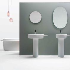 Badezimmerspiegel, Spiegel And Badezimmer On Pinterest Bad Design Geometrische Asthetik Giano Serie Rexa Design