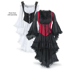 Pirate Queen Dress - Women's Clothing & Symbolic Jewelry – Sexy, Fantasy, Romantic Fashions