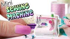 Miniature Sewing Machine - Dollhouse Polymer Clay Tutorial