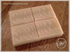 Ghost Swirl - handmade soap