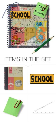"""""""back to school"""" by hippiechick63 ❤ liked on Polyvore featuring art"""