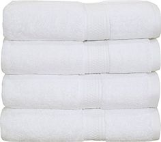8-Piece Premium Hotel Quality, Super Soft, Highly Absorbent ... on organic cotton towels, white tea towels, eco cotton towels, whitecotton dish towels, disposable cotton towels, white hand towels, peri cotton towels, high quality cotton towels, 100% cotton towels, white face towels, white linen towels, black towels, silver towels, white monogrammed towels, white towel sets, white hotel towel, white terry towel, white beach towels, egyptian cotton towels, white bath towels,